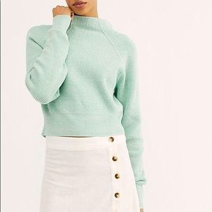 NWT Free People Too Good Pullover Sweater